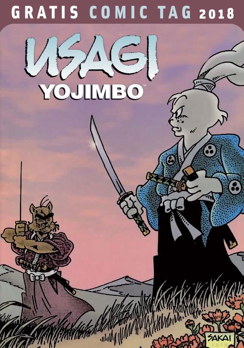 Dantes-Verlag-GCT-2018-Usagi-Yojimbo-Cover