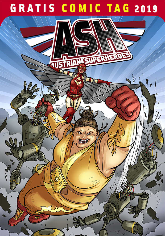 Austrian Superheroes