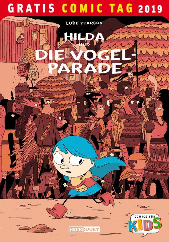 Hilda und die Vogelparade